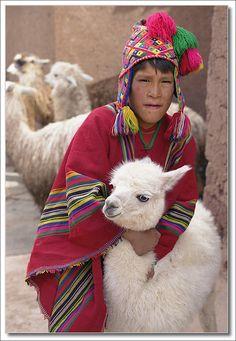 quand lama pas content ... - , Cusco Central America, South America, Latin America, Machu Picchu, Andes Peru, Innocent Child, Cusco Peru, Inca, How To Start Knitting