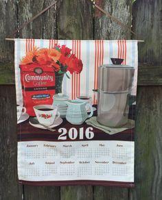19.95 2016 Calendar Towel