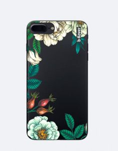 funda-movil-flores-borde-4 Tablets, Phone Cases, See Through, Mobile Cases, Crystals, Flowers, Phone Case