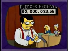 """Garrison Keillor: """"Well, sir, I think it's time to turn this pledge drive...over to Troy McClure.  I can't keep this pace forever.""""  (LONG, DEEP SIGH)"""