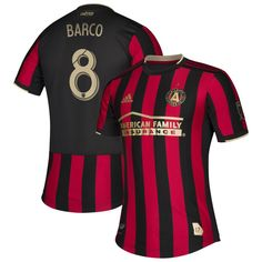 0bf5a1ab8 Ezequiel Barco  8 Atlanta United FC 2019-2020 MLS Star and Stripes Team Custom  Jersey