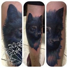 wolf tattoo  coverup