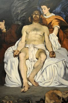 Edouard Manet - The Dead Christ with Angels 1864