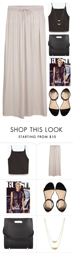 """Untitled #2005"" by tacoxcat ❤ liked on Polyvore featuring Zara, Object Collectors Item, Carvela, Alexander Wang and People Tree"
