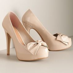 I've been looking for a pair of nude pumps. Bought these yesterday! so excited to wear them!