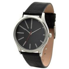 Dots tell time Watch (Black Face) I Free shipping I Welcome Wholesale