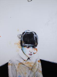 PALACE, acrylic & oil on canvas, 130x97cm.