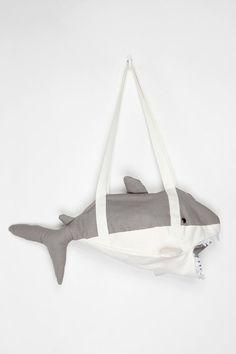 cooperative shark duffle bag