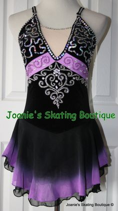 Joanie's Figure Skating Boutique of Newfoundland, Canada-Figure Skating Dresses, Custom Skating Dress, Skating Skirts, Skating Apparel. Baton. Dance. Leotards http://www.joanies-skatingboutique.com