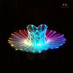 Produced by Changsha Tianchuang Stage Costumes Co.,Ltd // alma@vsledclothes.com // WhatsApp: 86-13975826017    The most professional LED costume manufacturer in China.    Notice: Tianchuang's all costumes are made of Tianchuang patented LED strip or full color fiber optic. Not common LED strip in the market or traditional EL wire.    Most important: Tianchuang wireless DMX512 control system has absolute advantage. Super synchronously, no time error.