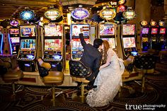 Awesome Vegas wedding photo. Just awesome.  Amanda + Omar D | Bookt Events