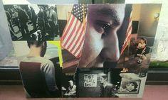 Multimedia collage in progress