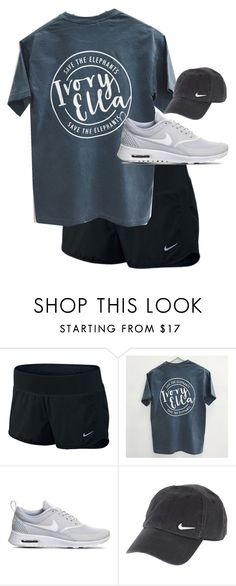 """Nike"" by kashaam ❤ liked on Polyvore featuring NIKE"