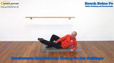 Bauch Beine Po mit Kurzhanteln