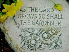 Ideas For Garden Quotes Thoughts Wisdom Garden Works, Garden Hoe, Garden Quotes, Garden Signs, My Secret Garden, Organic Gardening, Gardening Tips, Gardening Memes, Balcony Gardening