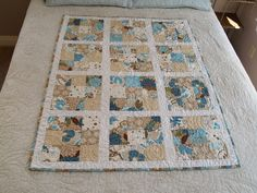Sandy Beach Quilt. by ModMimi Quilts