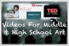 MANAGING THE ART CLASSROOM: VIDEOS FOR MIDDLE & HIGH SCHOOL ART