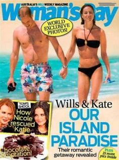 Prince William and Kate Middleton Honeymoon Photo