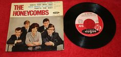 THE HONEYCOMBS COLOUR SIDE7  PC EP FRENCH PRESSING