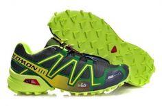 http://www.shoes-jersey-sale.biz/  Salomon Running Shoes Mens #Cheap #Salomon #Running #Shoes #Mens #Green #Black #High #Quality #Fashion #Online #Sale