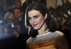 "Cast member Rachel Weisz poses on the red carpet as she arrives for the screening of the film ""The Lobster"" May 15, 2015. REUTERS/Regis Duvignau"
