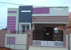 56 Super Ideas For House Exterior Colors Modern Colour House Front Wall Design, Village House Design, Front Elevation Designs, House Elevation, Minimalist House Design, Modern House Design, Exterior House Colors, Exterior Design, Railing Design