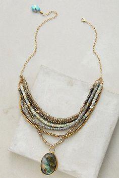 Perlea Moonstone Necklace #anthropologie