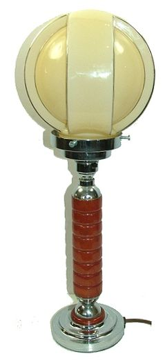 Original 1930 s Art Deco Catalin Bakelite Lamp