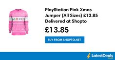 PlayStation Pink Xmas Jumper (All Sizes) £13.85 Delivered at Shopto, £13.85 at ShopTo.Net