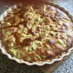 Rebarborový koláč – výborný Quiche, Food And Drink, Pie, Treats, Breakfast, Sweet, Shape, Torte, Sweet Like Candy