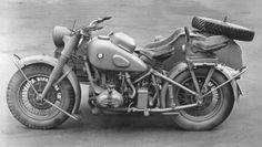 A BMW R12 in excellent condition with aide car