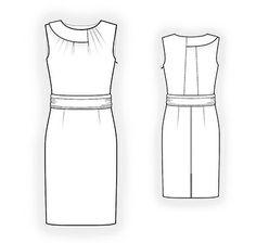 4317 PDF vestido coser patrón ropa mujer por TipTopFit en Etsy