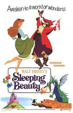 Vintage Disney Posters #Disney #sleepingbeauty #memories