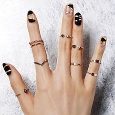 30 Black Nail Designs That Are Anything but Goth