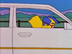 A chat with the anonymous curator behind Scenic Simpsons.