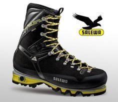 Salewa präsentiert Schuhe mit verstellbarer Sohlenhärte. Mindestens interessant...