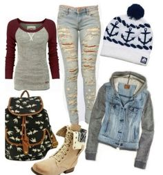 tomboy fall/winter outfit