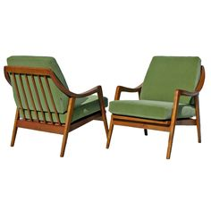 A Pair of Modernist Armchairs