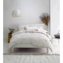 Deco by Linen House Loft Charcoal Double Quilt Cover Set