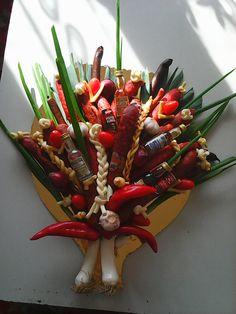 bouquet sausages
