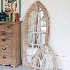 Church Window Mirror -Tall