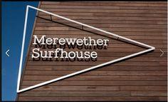 shop sign. Merewether Surfhouse