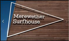 Merewether Surfhouse signage