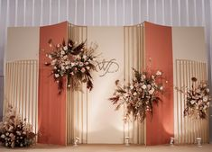 wedding centerpieces for round tables Outdoor Wedding Backdrops, Wedding Backdrop Design, Wedding Stage Design, Wedding Reception Backdrop, Wedding Stage Decorations, Wedding Mandap, Wedding Wall, Backdrop Decorations, Art Deco Wedding