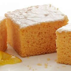 Orange Soak Cake: The 'soak' part of the Orange Soak Cake recipe comes from allowing the zesty orange glaze to seep into the Duncan Hines® Orange Supreme Cake. Give it a try!