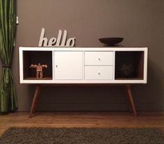 Ikea KALLAX ,  10mm ply board,  longer legs,  and KALLAX doors and stain Teck of Java (Satin)  ikea-upright-bookcases-now-mid-century-modern-sideboards.html#OADQyqULBzBqsJ48.99