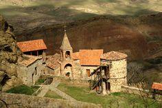 David Gareja monastery complex  Давидо-Гареджийский монастырский комплекс Грузия
