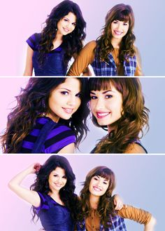 Demi Lovato & Selena Gomez. Both so beautiful