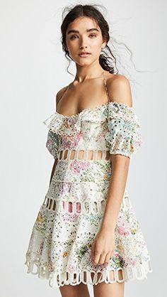 2888c2c89283 Heathers Off Shoulder Dress Dress Cuts, China Fashion, Ruffle Dress, Dress  Outfits,