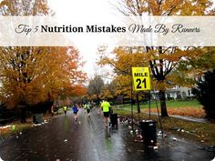 How to Eat for Running - are you making one of these 5 nutrition-related mistakes?